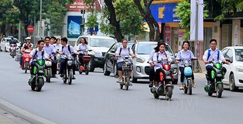 quy định về xe máy điện