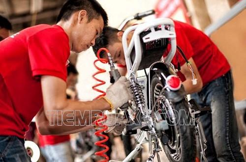 cách sửa xe đạp điện bị chập điện