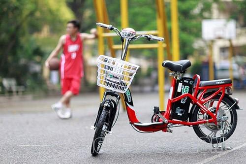 xe đạp điện hàn quốc có kiểu dáng khá sang trọng