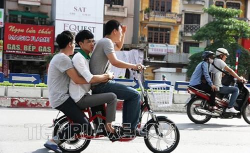 xe đạp điện bị sụt điện