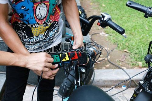 làm gì khi xe đạp điện hết điện