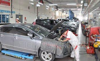 Bảo dưỡng xe ô tô tại các trung tâm bảo dưỡng lớn sẽ đem lại sự an toàn
