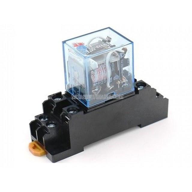 Role trung gian giúp chuyển tiếp mạch điện cho các thiết bị khác