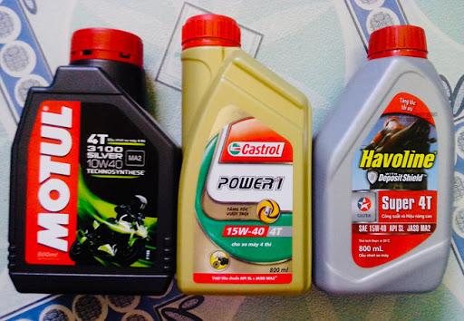 tại sao phải thay dầu xe máy