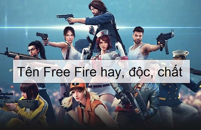 tên team hay trong gaem free fire