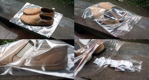 cách bảo quản giày không bị mốc
