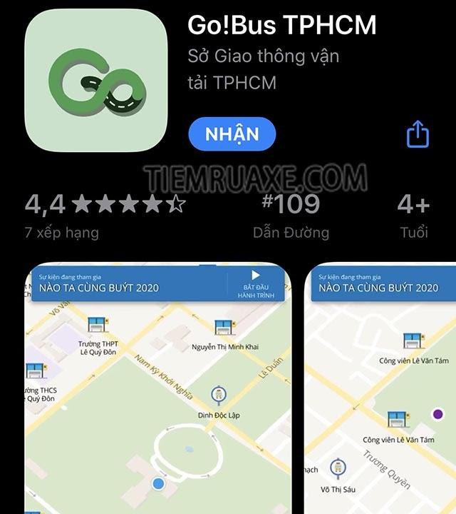 cách đi xe buýt tại tphcm sử dụng app