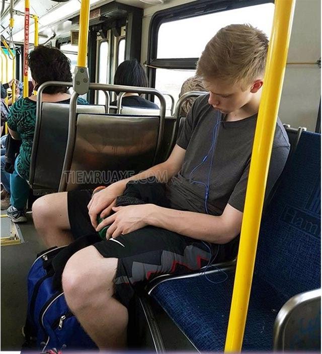chú ý khi đi xe bus