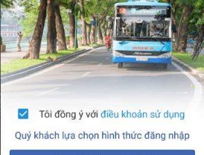 Đăng nhập App tìm bus