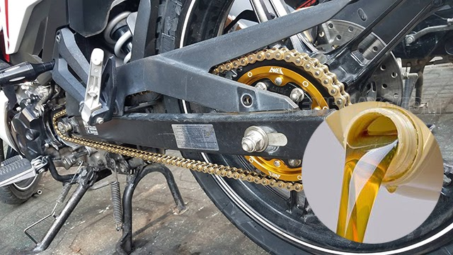 vệ sinh sên xe máy