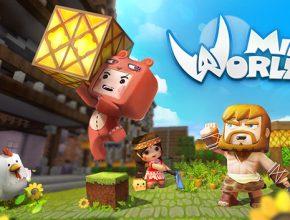 game mini world block art