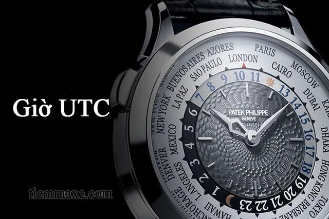 Giờ UTC dùng để định vị thời gian